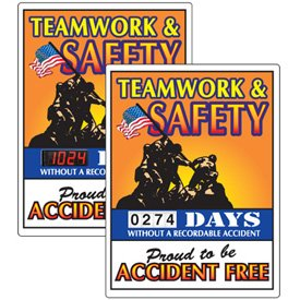 Stock Scoreboards - Teamwork & Safety