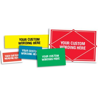 Custom Design Heavy-duty Labels