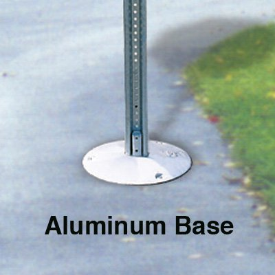 Stop Sign And U-Channel Post Kits - Aluminum Base