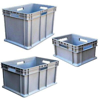 Storage Bins for Multi-Tier Stock Cart