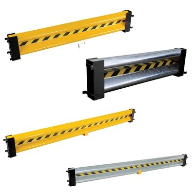 Straight Guard Rail System With Drop-In Brackets & Hardware