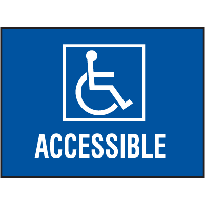 Handicap Accessible Decals