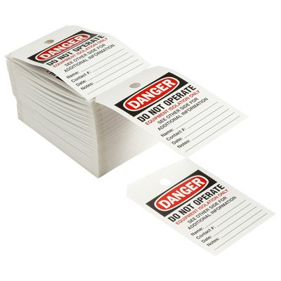 THT Printable Tags - Danger Do Not Operate