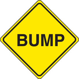 Traffic Signs - Bump