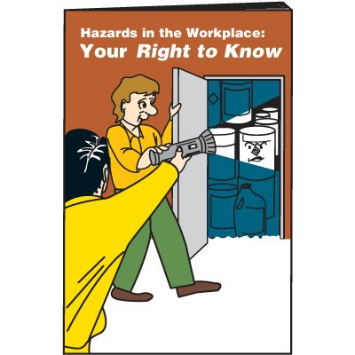 Hazards In The Workplace Training Booklets
