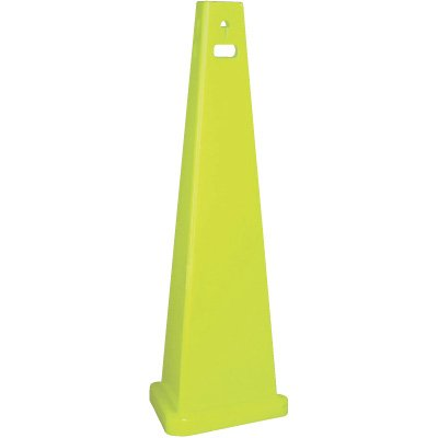 Trivu 3-Sided Safety Cones - blank