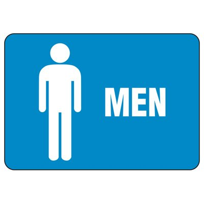 Facility Reminder Signs - Men