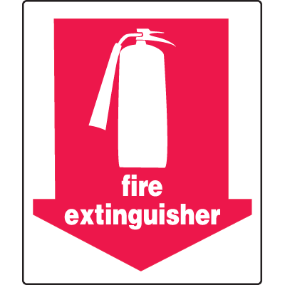 Universal Graphic Signs And Labels - Fire Extinguisher