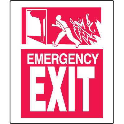 Universal Graphic Signs And Labels - Exit
