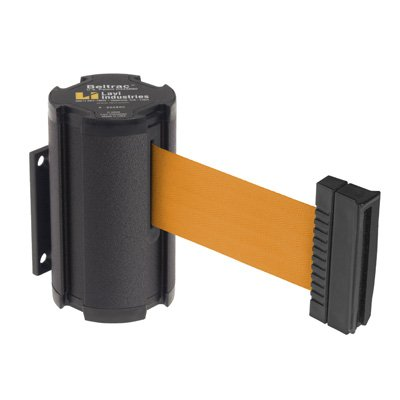 Beltrac® Wall-Mount Retractable Belts - Orange Belt