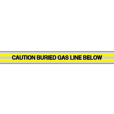 Gas Line Underground Warning Tape