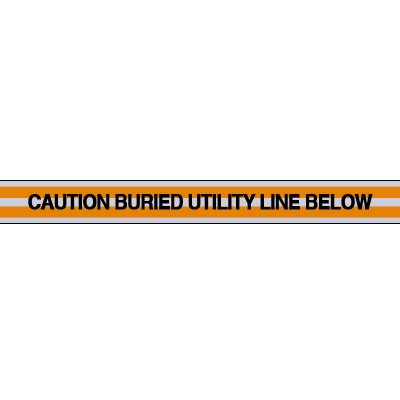 Utility Line Underground Warning Tape