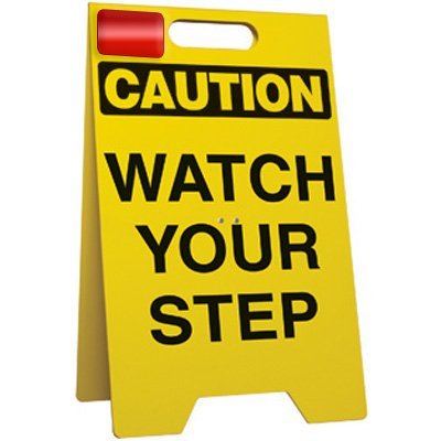 Watch Your Step - Floor Stand
