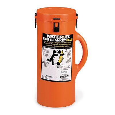 Water Jel® Fire Blanket Plus with Canister