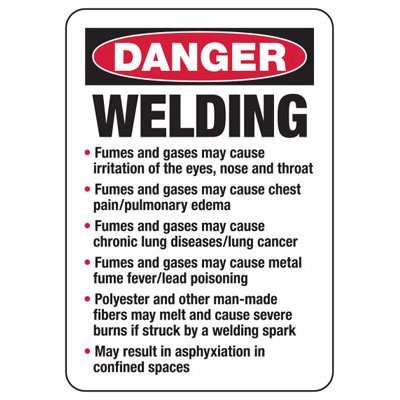 Danger Welding - Industrial Hot Work Signs