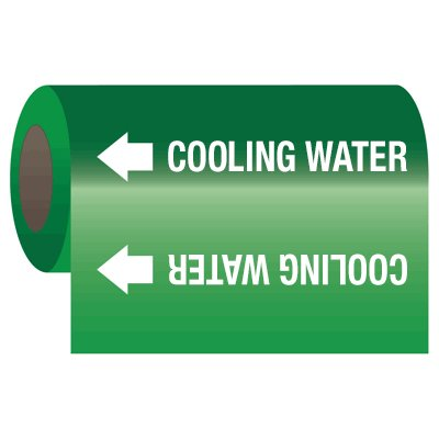 Wrap Around Adhesive Roll Markers - Cooling Water