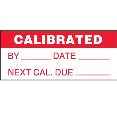 Calibrated Status Label