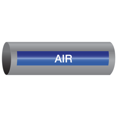 Xtreme-Code™ Self-Adhesive High Temperature Pipe Markers - Air