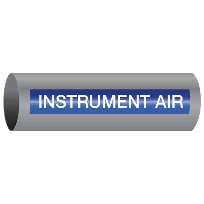 Xtreme-Code™ Self-Adhesive High Temperature Pipe Markers - Instrument Air