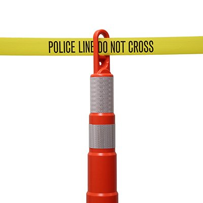 Economy Printed Barricade Tape - Police Line