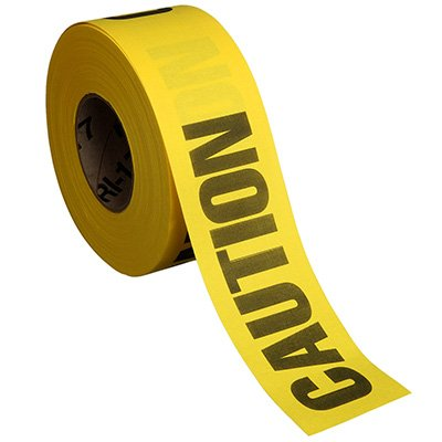 Cloth Barricade Tape - Caution