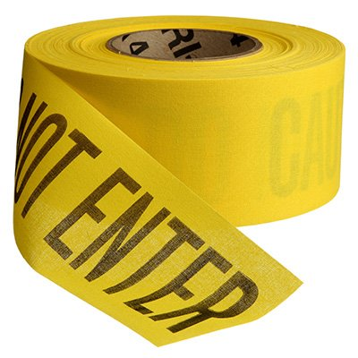 Cloth Barricade Tape - Caution Do Not Enter