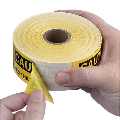 Safety Labels On A Roll - Caution Keep Hands Clear