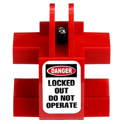 Zing® RecycLockout Universal Double Breaker Lockout