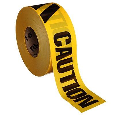 Barricade Tape - Caution