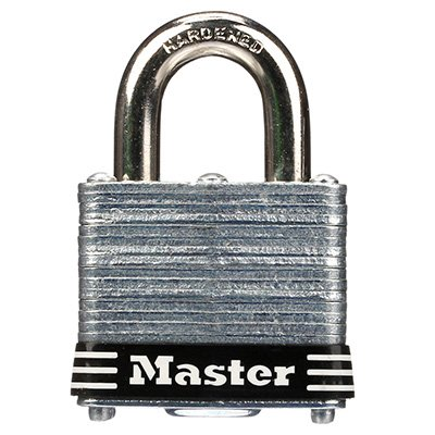 Master Lock® Keyed Different Colored Bumper Padlocks