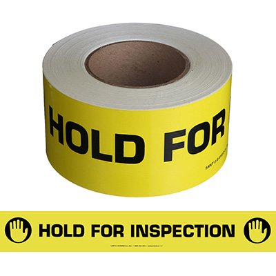 Nadco Hold For Inspection Message Tape SAWT13
