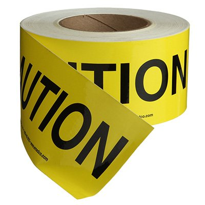 Nadco Caution Message Tape 3X200-SAWT3