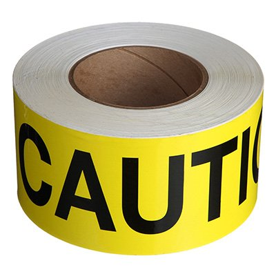 Nadco Caution Message Tape 3X200-SAWT44
