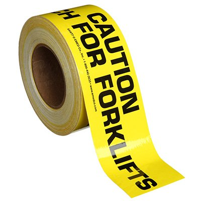 Nadco Watch For Forklifts Message Tape 3X200-SAWT7