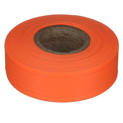 Fluorescent Orange Flagging Tape