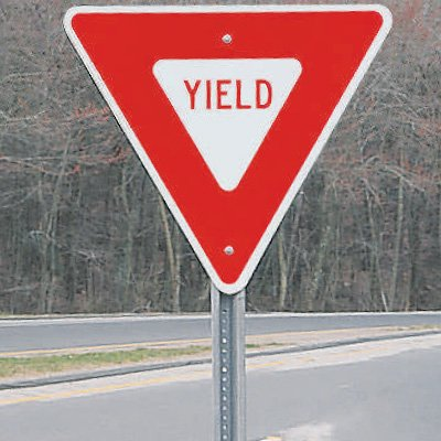 Image result for yield sign
