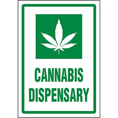 Cannabis Dispensary Label