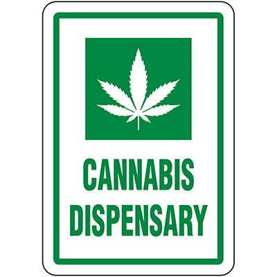 Cannabis Dispensary Signs