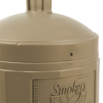 JUSTRITE Smokers Cease-Fire Receptacle - Standard Size 26800B