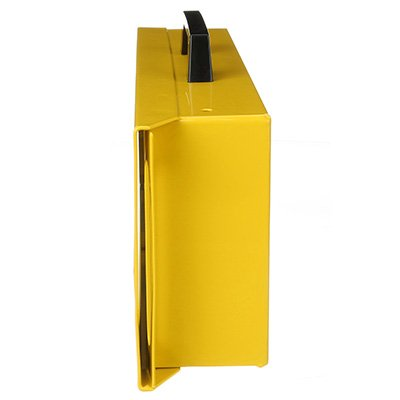 Brady Metal Wall Lock Box - Yellow - Part Number - 46134 - 1/Each