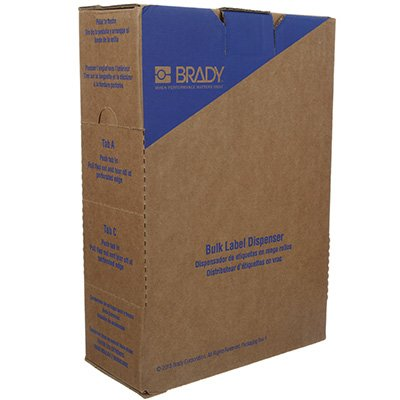 Brady BM71-11-427 BMP71 Label - Clear/White