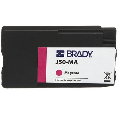 Brady J50-MA BradyJet J5000 Ink Cartridge - Magenta