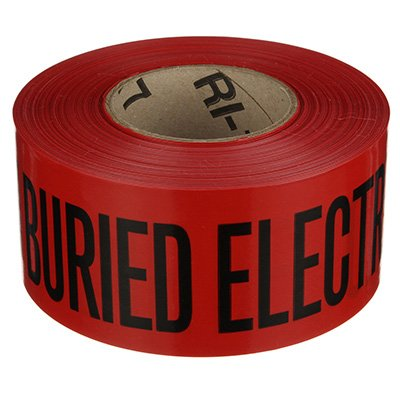 Electrical Line Underground Warning Tape