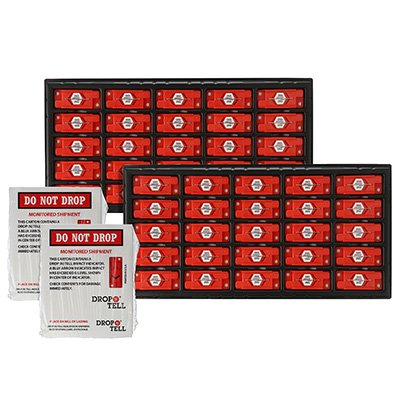 Drop-N-Tell Indicator Shipping Labels-52986