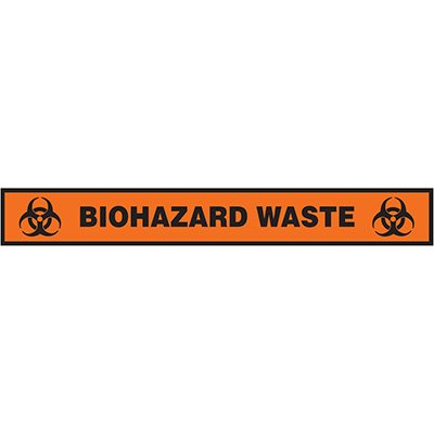 Floor Label- Biohazard Waste