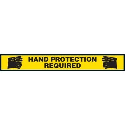 Label- Hand Protection Required