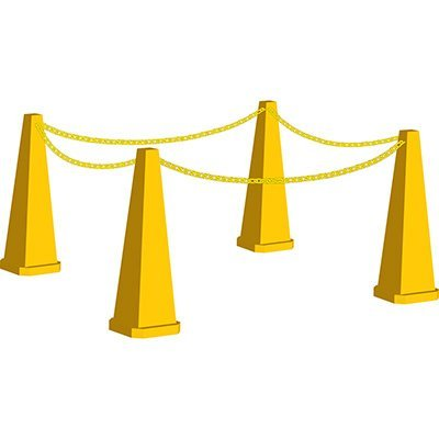 Safety Cone Kit-Blank 35-Inches