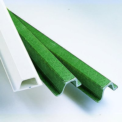 Fiberglass U-Channel Posts