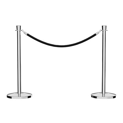 Stanchion Post & Rope Kit