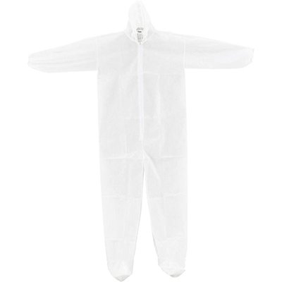 Global Industrial™ Disposable Polypropylene Coveralls with Hood